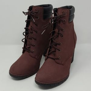 "Timberland Tillston 6"" Dark Brown Nubuck Boots"